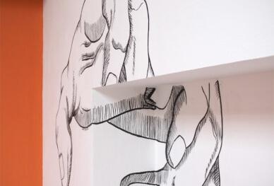 studio coucourde dipinto
